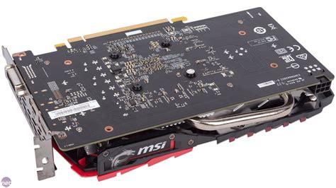 vga msi gtx 1050 msi geforce gtx 1050 ti gaming x 4g review bit tech net