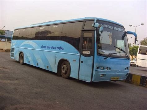 Bus Timings And Bus Schedule  Haryana Roadways Volvo Ac