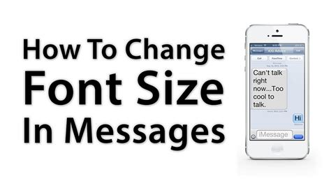 how to change text size on iphone ios advice how to change the font size on iphone