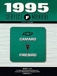 1995 Chevrolet Camaro  U0026 Pontiac Firebird Service Manual Volume 1