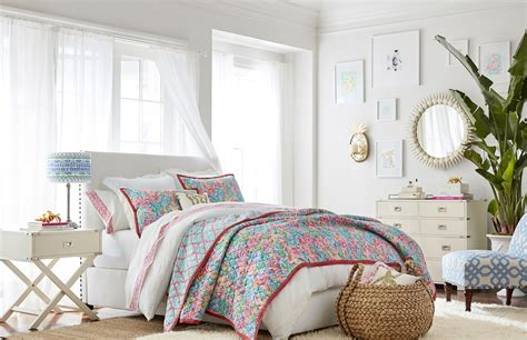 pottery barn for pottery barn and lilly pulitzer home decor collection