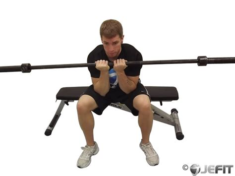 Barbell Close Grip Seated Concentration Curl