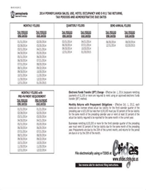 form rev 819 fillable 2014 pa sales use and hotel
