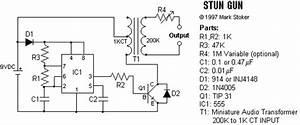 Stun Gun Circuit Diagram
