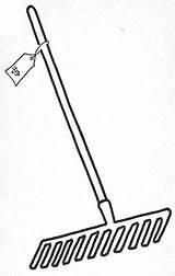 Rake Rastrillos sketch template