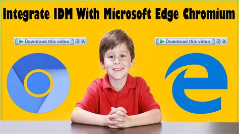 Microsoft edge is amazing but i don't know how to integrate idm with microsoft edge? How To Integrate IDM With Microsoft Edge Chromium In Windows 10 - Soft Suggester