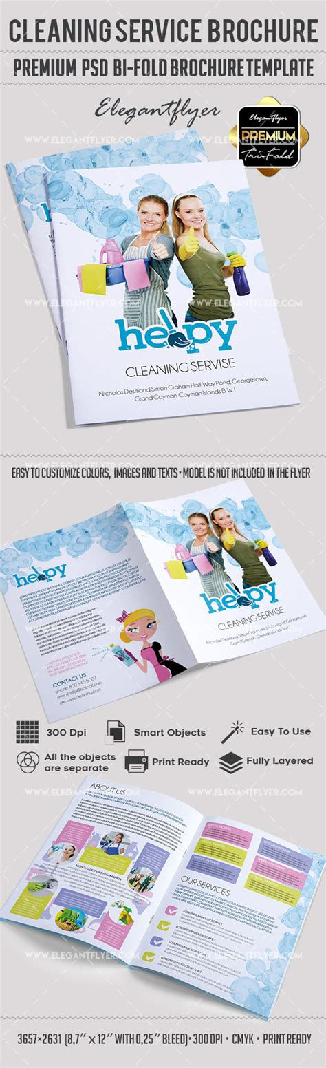 Cleaning Services Bi Fold Template By Elegantflyer Cleaning Services Bi Fold Template By Elegantflyer