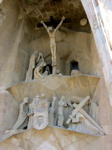 passion facade  crucifixion  christ