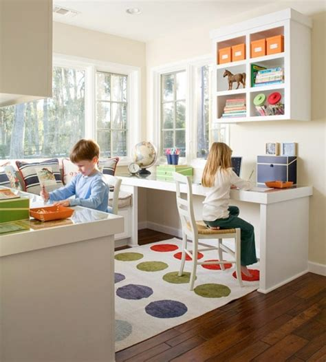 cool ideas  organize  work area   kids room kidsomania