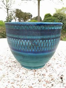 Cache Pot Bleu : cache pot bleu ~ Teatrodelosmanantiales.com Idées de Décoration