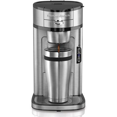 If your hamilton beach coffee maker stopped working, some basic troubleshooting can hamilton beach coffee maker not pumping water or starts and stops pumping. Hamilton Beach The Scoop Single Serve Coffee Maker - Walmart.com - Walmart.com