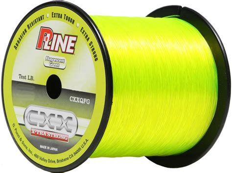 p  cxx fluorescent green  tra strong fishing