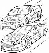 Track Race Drawing Coloring Getdrawings sketch template