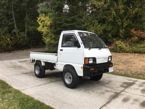 Hijet Mini Truck by Daihatsu Hijet 4x4 Mini Truck Central Saanich