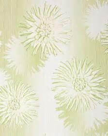 tapeten retro design edem 030 25 retro design blumen floral tapete creme weiß grün hell olive original edem creme