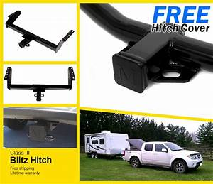 1999 Nissan Frontier Towing Hitch