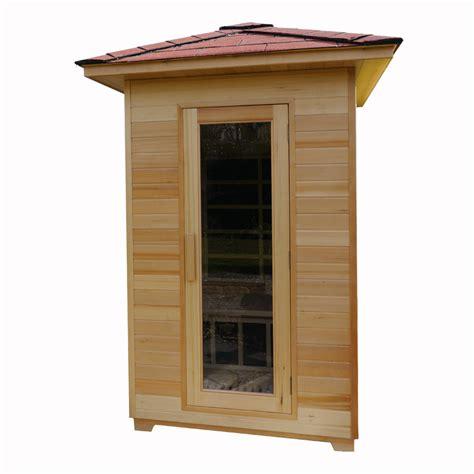 uk saunas standard outdoor infrared  person
