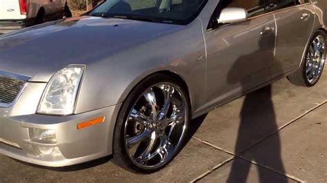 Cadillac Sts 24 Inch Rims Walk Around Video