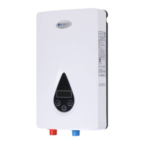 Marey Tankless Hot Water Heater 3 Gpm Electric Ondemand
