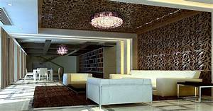 Creative ideas living room ceiling and walls download d