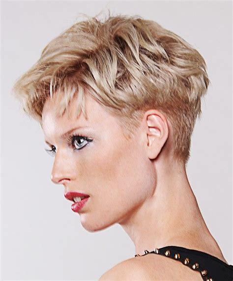 Farouk Short Blonde Hairstyles Short hair styles Pretty