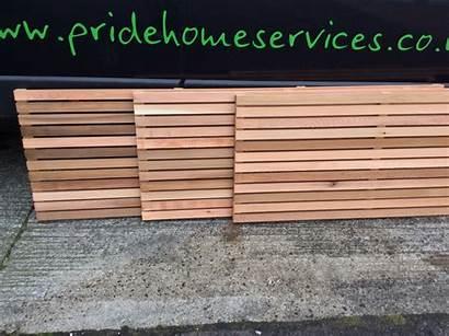 Panels Cedar Fence Western Fencing Screen 1800mm