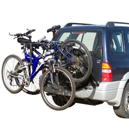 walmart bike rack 2 bike spare tire bicycle carrier rack for suv and rv