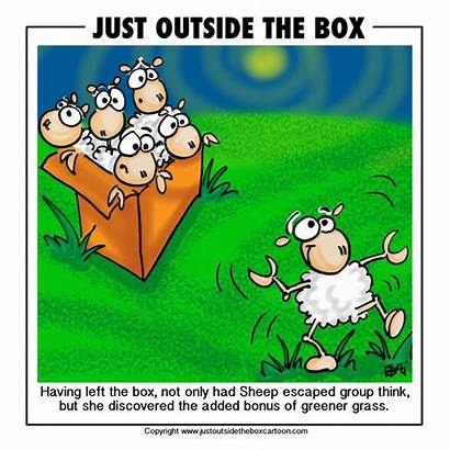Cartoon Sheep Grass Funny Greener Side Clipart