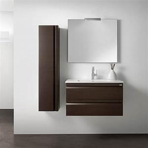 ensemble meuble salle de bain solco2 80 cm en finition With porte de douche coulissante avec ensemble lavabo meuble salle de bain