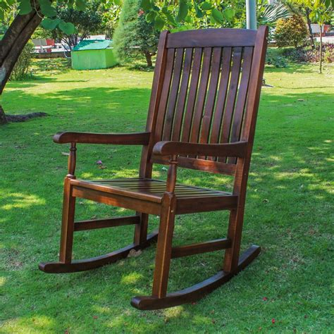 Outdoor Porch Chairs by Traditional Porch Rocking Chair Patio Furniture Garden