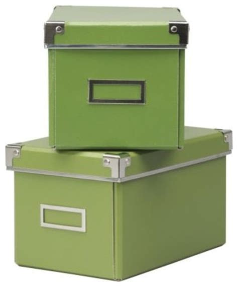 kassett cd box with lid contemporary storage bins and