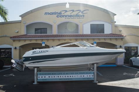 Larson Bowrider Boats For Sale by Used 1999 Larson 186 Bowrider Boat For Sale In West Palm