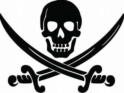 Skull Pirate Crossbones Jolly Sword Roger Svg