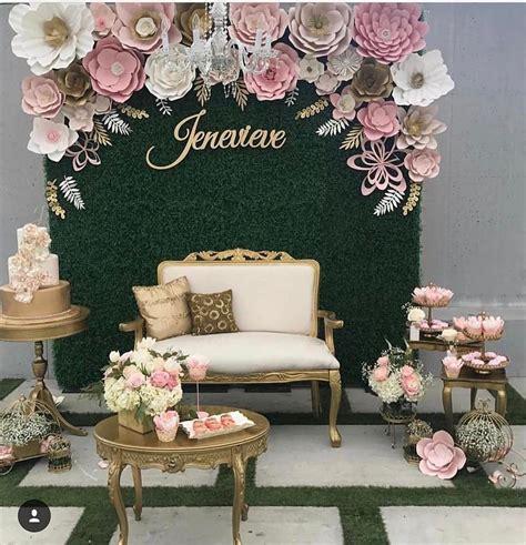 beautiful paper flower backdrop wedding ideas  oosile