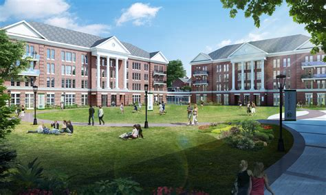 william peace university campus master plan odell