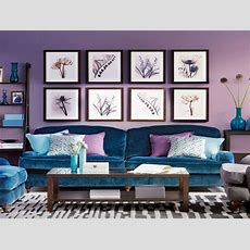 Peacock Blue Living Room Decorating Ideas Ideal Home