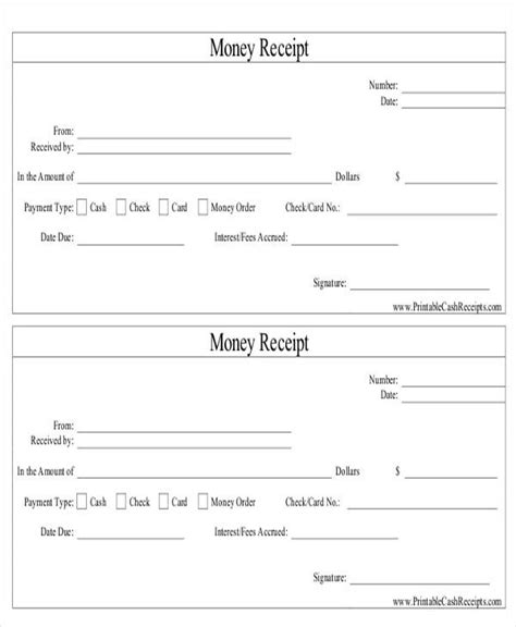 money order template 8 order receipt templates free sles exles formats sle templates