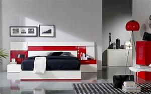 decoration chambre rouge et gris visuel 5 With deco maison rouge et gris