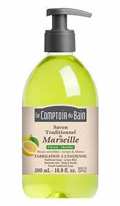 Le Comptoir Du Bain : savon traditionnel de marseille citron menthe 500 ml le comptoir du bain ~ Teatrodelosmanantiales.com Idées de Décoration