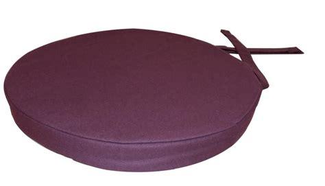 galette de chaise ronde en coton  cm