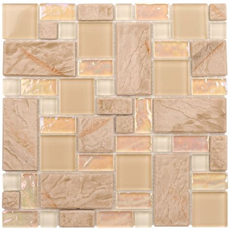 elida glass tile lowes shop elida ceramica