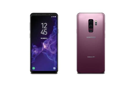more galaxy s9 leak showing redesigned fingerprint reader and lilac color the verge