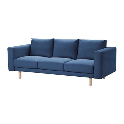 norsborg sofa edum dark blue birch ikea