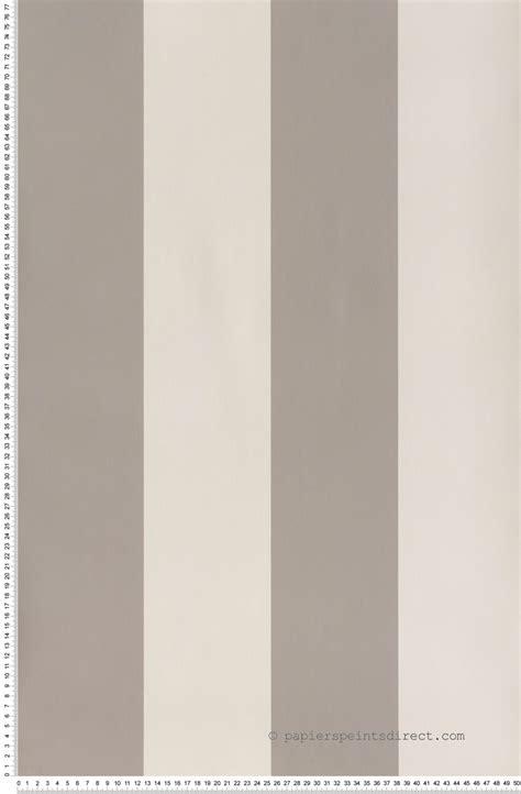 papier peint lutece chambre papier peint larges rayures gris moye papier peint