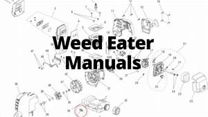 Weed Eater Manuals  Care Guides  And Literature Parts