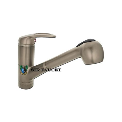kitchen sink faucet with pull out spray sir faucet 708 pull out spray kitchen faucet