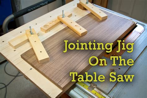 table  jointing jig great  guitars project