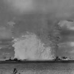 Marshall Islands Atoll Hydrogen Bomb Test