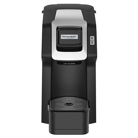 Hamilton beach sent me their the scoop single serve coffee maker new model to try out. Hamilton Beach HDC311 Black Commercial Hospitality Single-Serve Coffee Maker - 120V, 1050W