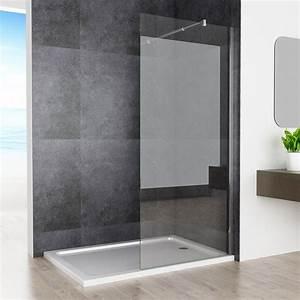 Walk In Dusche : 80 x 200cm walk in dusche duschabtrennung duschwand duschkabine 10mm nano glas ebay ~ One.caynefoto.club Haus und Dekorationen